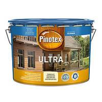 Пропитка для дерева с лаком PINOTEX ULTRA (Пинотекс Ультра) Чёрный 10л