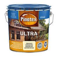 Пропитка для дерева с лаком PINOTEX ULTRA (Пинотекс Ультра) Чёрный 3л