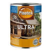 Пропитка для дерева с лаком PINOTEX ULTRA (Пинотекс Ультра) Чёрный 1л