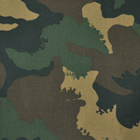 Ткань камуфляжная бундес-сатин Woodland