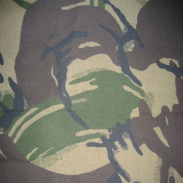 Ткань камуфляжная саржа DPM британец