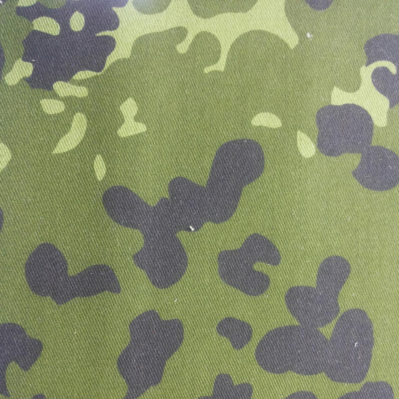 Ткань камуфляжная саржа МО-ВО Flecktarn-D