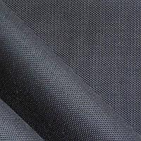 Ткань сумочно-рюкзачная оксфорд титан 1680D ПУ черный