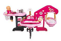 Великий ігровий центр по догляду за лялькою Baby Nurse 6 в 1 Smoby 220318