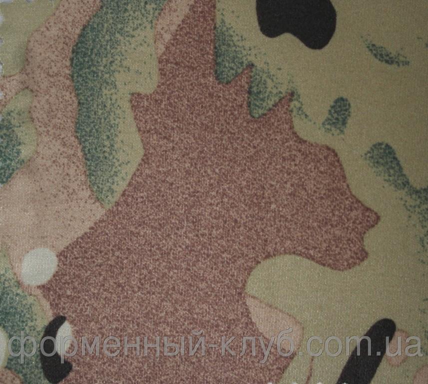 Ткань Дюспо бондинг-флис мультикам с мембранным покрытием