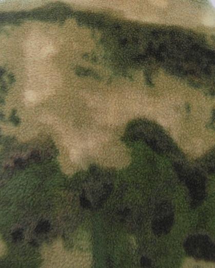 Ткань флис атакс зеленый