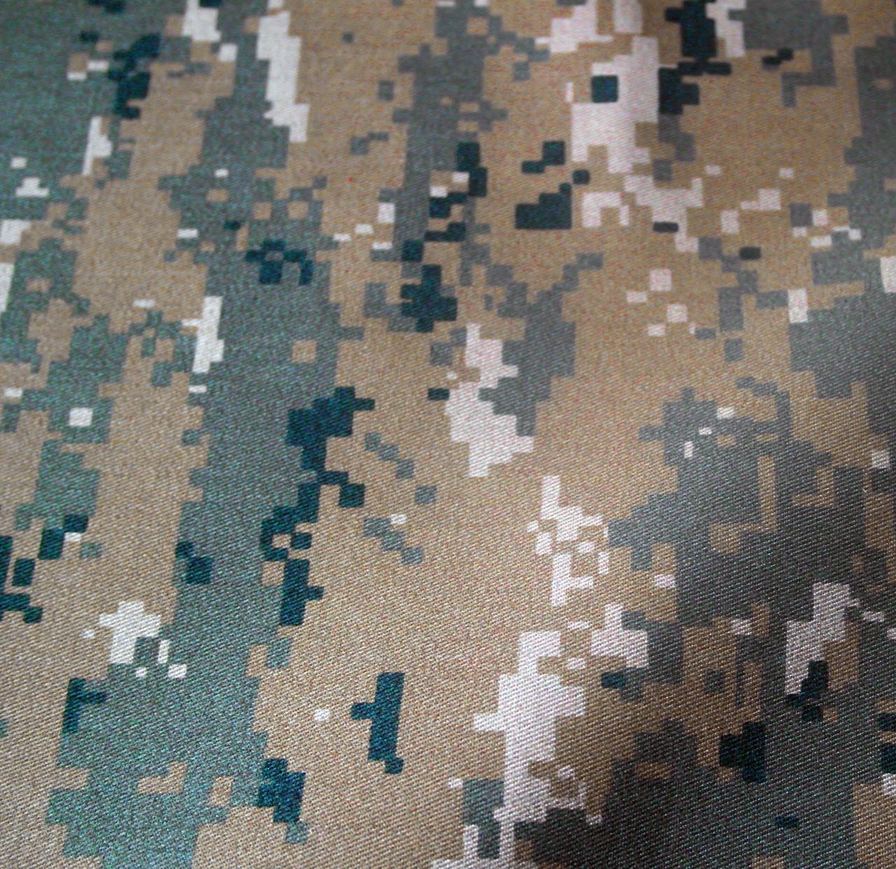 Ткань камуфляжная Саржа тёмный лес