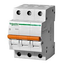 Автоматический выключатель 11225 ВА63 3P 25А