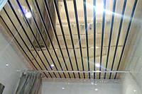 Реечный потолок сист.  цвет  супер хром