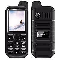 """Водостойкий мобильный телефон Vkworld Stone V3 Plus black черный IP54 (2SIM) 2,4"""" 1,3 Мп 4000 мАч Гарантия!"""