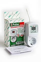 Терморегулятор РТ20-VR1 розеточный цифровой Pulse