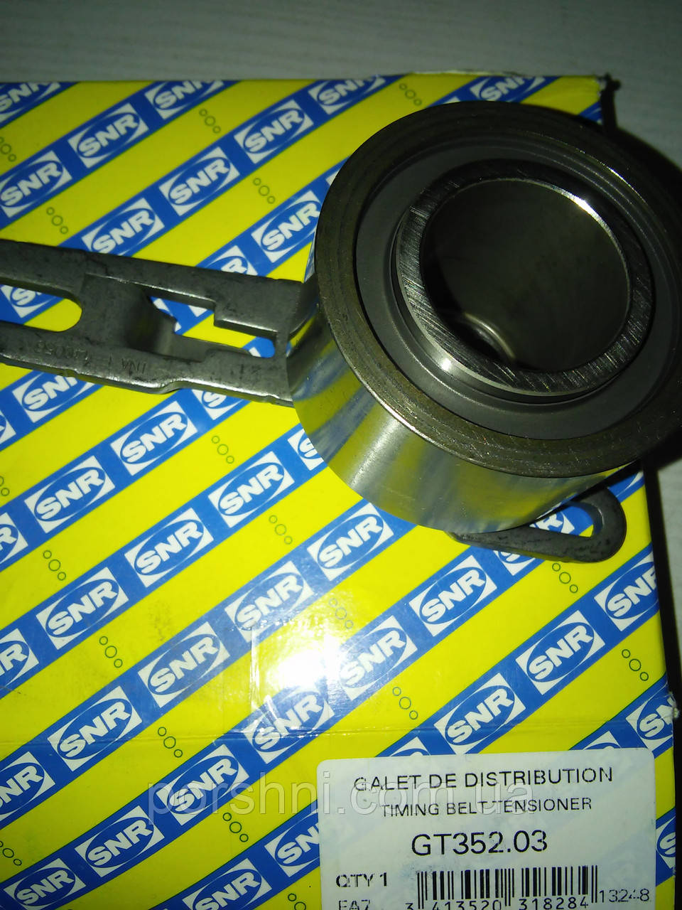 Ролик ремня  ГРМ Ford Тransit  2,5  D.   SNR  GT352.03