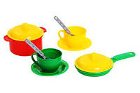Посуда Технок, набор в сетке (8 предметов)