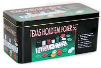 Набор для Покера Texas Holdem Poker Set на 200 Фишек