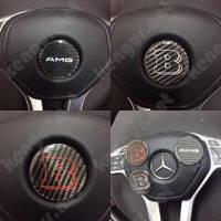 Эмблема в руль карбоновая Mercedes G-class W463