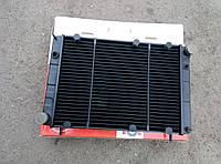 Радиатор водяного охлаждения Волга 3110, 31105, 3102 (3 рядный медный) (пр-во Иран)