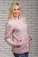Женская куртка на синтепоне карамель