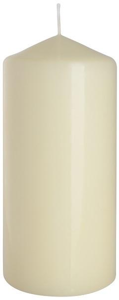Свеча кремовая парафиновая цилиндрическая 70х150мм. 1шт