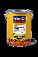 YUKO MEGA DIESEL 10W-40 API CI-4/SL Полусинтетическое моторное масло (полусинтетика) 20л