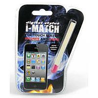 Спичка - стилус для смартфона/планшета, 2 цвета