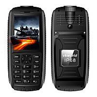 """Ударопрочный мобильный телефон Vkworld Stone V3 Max IP68 black черный (2SIM) 2,4"""" 1,3 Мп оригинал Гарантия!"""