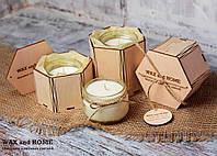 Ароматизированная массажная свеча в коробке( вес 90г, вес -160г)