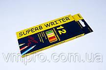 """Олівці кольорові """"MARCO"""" Superb Writer,№4100-12CB (12 кольорів)"""