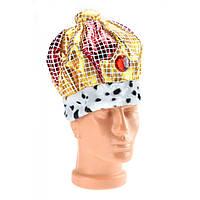 Шляпа Царская золотая