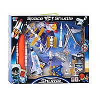 Набор космического транспорта, космонавты 2шт