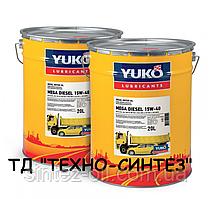 YUKO MEGA DIESEL 15W-40 API CI-4/SL Минеральное моторное масло (20л)
