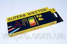 """Олівці кольорові """"MARCO"""" Superb Writer,№4100-24CB (24 кольори)"""