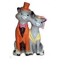 """Копилка """"Коты венчальные большие"""""""