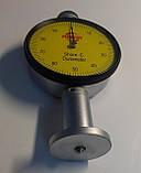 Дюрометр (твердомер) Шора модель SHORE С с одной стрелкой, шкала HС 0-100, фото 4