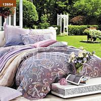 Комплект постельного белья Вилюта ранфорс двуспальный Евро 12654