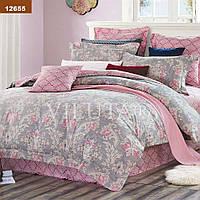 Комплект постельного белья Вилюта ранфорс двуспальный Евро 12655