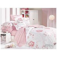 Комплект постельного белья Вилюта ранфорс двуспальный Евро 8626 розовый