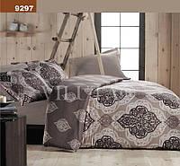 Комплект постельного белья Вилюта ранфорс двуспальный Евро 9297