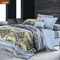 Комплект постельного белья Вилюта ранфорс Platinum двуспальный Евро 12650