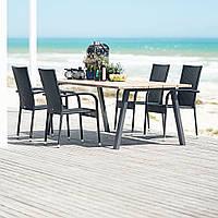 Комплект садовой мебели 4 кресла и стол 220 cv
