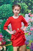 Платье Алиса для девочки р. 128-152 красный