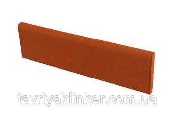 Клинкерная плитка цоколь King Klinker (01) Рубиново красный 73х245х10