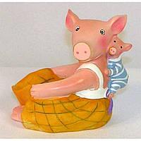 Свинки - фартук под мобилу - подставка
