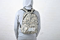Камуфляжный Рюкзак Nike / новинка / New / темный