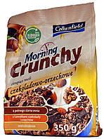 Мюсли Crownfield Morning Crunchy Czekoladowo-Orzechowe 350г.