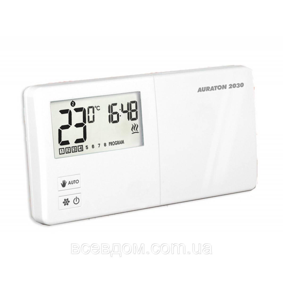 Проводной недельный программатор температуры Auraton 2030