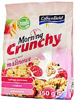 Мюсли Crownfield Morning Crunchy Malinowe 350г.