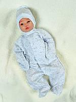 Человечек с начёсом для новорожденных, фото 1