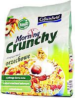 Мюсли Crownfield Morning Crunchy Orzechowe 350г.
