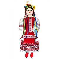 Кукла сувенирная Украиночка красная