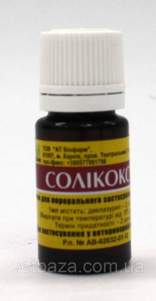 Соликокс - 0,25%, 10мл Биофарм